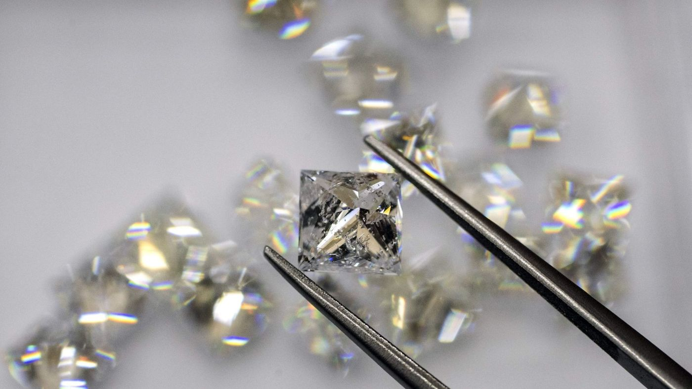 What scientists found trapped in a diamond: a type of ice not known on Earth
