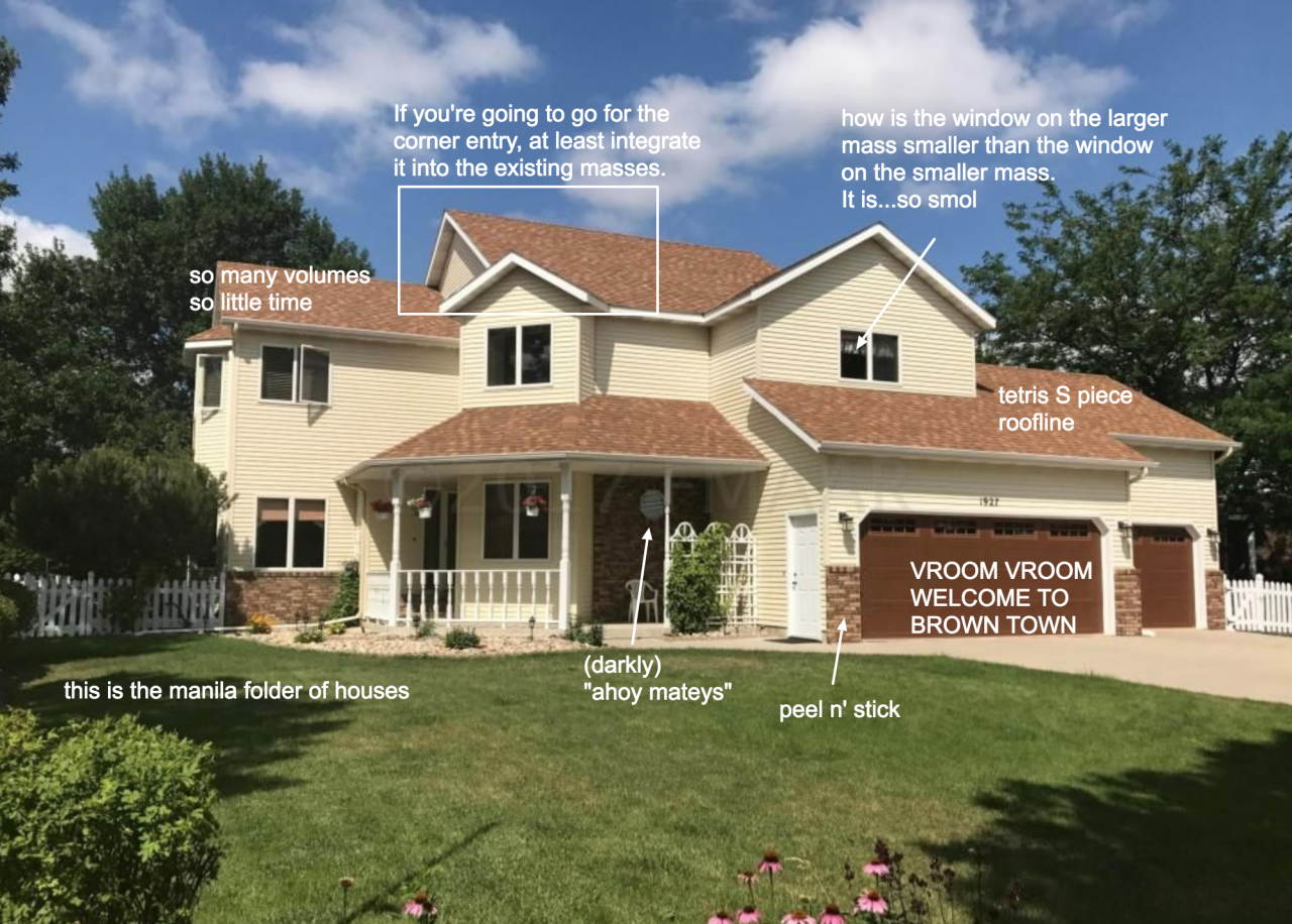 Architecture fails: McMansion Hell